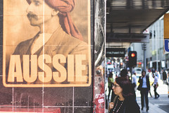 Are you an Aussie? (julieabreu.photography) Tags: street portrait color poster streetphotography documentary australia melbourne streetphoto aussie