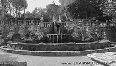 Villa Lante (Claudia Celli Simi) Tags: bw italia bn viterbo lazio parchi villalante bagnaia giardinoallitaliana cardinalgambara fontanadeigiganti
