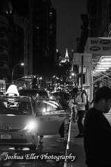 Taxi (Joshua Eller) Tags: newyorkcity taxi streetscene chryslerbuilding manhatten