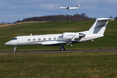 4X-CPX.EDI160416 (MarkP51) Tags: plane airplane scotland airport nikon edinburgh image aircraft aviation edi gulfstream bizjet egph corporatejet ivsp d7200 4xcpx markp51