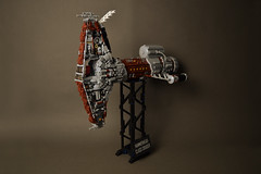 Steampunk Hammerhead-class cruiser (AdNorrel) Tags: starwars lego legostarwars steampunk moc legosteampunk