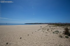 Endless Beach of Lagos 6826f (Stefan Beckhusen) Tags: ocean travel sea sun color tourism beach portugal sand holidays europe day sunny bluesky lagos chilling relaxation chill endless