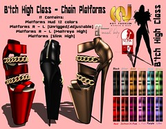 [CCV] - B*tch High Class - Chain Platforms + Hud (12 Colors) (By: C. D'carlo) Tags: eve girls feet ass colors high mujer women shoes dress panel femme omega free class lena gratis hud phat brazilia sking azz btch maitreya ccv slink applier groupgift wowmeh braziliadoll availablein6