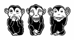 Evil listener (Don Moyer) Tags: moleskine ink notebook monkey drawing evil moyer brushpen listen donmoyer