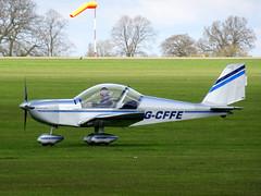 G-CFFE Cosmik Aviation EV-97 TeamEurostar UK cn 3211 Sywell 23Apr16 (kerrydavidtaylor) Tags: eurostar ev97 aerotechnik