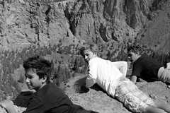 Over a cliff (samdabull) Tags: olympus om1 oly 50mmlens 35mmcamera