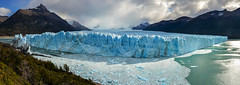 Glaciar Perito Moreno (Pavla Frysova) Tags: travel summer panorama patagonia sun lake mountains ice water argentina field clouds america landscapes south glacier daytime glaciar perito moreno glaciares panoramatic