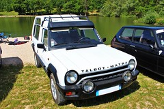 Talbot-Matra Rancho (alex73s https://www.facebook.com/CaptureOfAlex?pnr) Tags: auto old white classic car canon french automobile european francaise transport meeting automotive voiture retro coche oldcar blanche macchina rancho talbot ancienne vehicule matra rassemblement europeenne