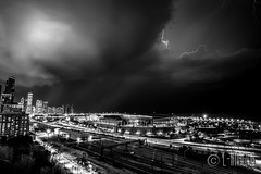 Thunder-11 (L-Imaging) Tags: sunset sky chicago weather buildings cloudy niko lightening thunder sinset weath chicagocity ligthining limaging