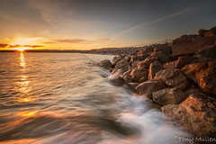 Nightfall in Lahinch (Tony Mullen Photography) Tags: lahinch lahinchbeach lahinchcountyclare tonymullenphotography lahinchsunset