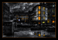 The Old Wellington (A Digital Artist) Tags: england building architecture clouds manchester pub northwest lancashire tavern citycentre hdr manchestercity canon1855mm gradeii theoysterbar theoldwellington kevinwalker canon1100d