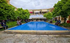 24 Square with pool at Bazaar e Vakil (T   J ) Tags: iran fujifilm shiraz xt1 teeje fujinon1024mmf4