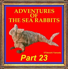 ADVENTURES OF THE SEA RABBITS (PART 23) (searabbits23) Tags: ny newyork sexy celebrity art hat fashion animal brooklyn painting asian coneyisland japanese star tv google king artist dragon god manhattan wildlife famous gothic goth chinese performance pop taxidermy cnn tuxedo bikini portraiture tophat unitednations playboy dining entertainer takeshi samurai genius buffet mermaid amc johnnydepp mardigras salvadordali unicorn billclinton billgates aol vangogh curiosities sideshow jeffkoons globalwarming takashimurakami pablopicasso steampunk yamada damienhirst cryptozoology freakshow barackobama seara immortalized takeshiyamada museumofworldwonders roguetaxidermy searabbit ladygaga climategate minnesotaassociationofroguetaxidermists