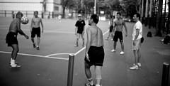 (street5dm2) Tags: street people blackandwhite bw canon hongkong noiretblanc candid soccer streetphotography manual nikkor oldlens 5dm2
