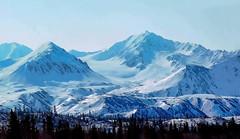 Hoodoo Mountain Glacier - (Explored) (JLS Photography - Alaska) Tags: winter mountain snow mountains alaska america landscape landscapes scenery outdoor hill glacier glaciers iceberg wilderness winterlandscape mountainpeaks mountainpeak lastfrontier alaskalandscape jlsphotographyalaska hoodoomountainsalaska