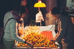 Xi'an muslim quarter (Elmar Bajora Photography) Tags: china street travel food heritage town essen asia asien market xian snack nightmarket mandarin citrus markt centralasia oldtown muslimquarter streetfood seller shaanxi reise mandarinen obst peoplesrepublicofchina oldquarter nahrung proc nachtmarkt muslimischesvertel