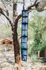 first shibori demo () Tags: indigo craft melbourne workshop dye dyeing shibori sonya7  sel35f28z