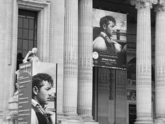 Grand Palais, Avenue Winston Churchill, Paris (Steve Hobson) Tags: paris poster grand palais lucien clergue