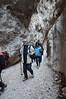 Passaggio nella forra nelle Gole di Fara San Martino (CH) - Majella - Abruzzo - Italy
