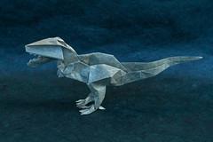 T-Rex 2015 ( Philogami) Tags: art paper origami aqua dinosaur kawahata fumiaki philogami