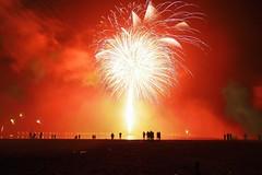 New Year's Eve Fireworks in Travemünde (4) (Lens Daemmi) Tags: deutschland fireworks newyear balticsea newyearseve lübeck ostsee silvester travemünde schleswigholstein feuerwerk 2015 priwall