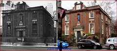 Caxton Street`1910-2016 (roll the dice) Tags: charity door old uk windows wedding boy chimney england urban london art history classic clock girl westminster car fashion parish statue architecture kids fence shopping nice education closed sad traffic printer good bricks wheels victorian entrance victoria retro teacher collection nostalgia boutique shops local streetfurniture mad baroque changes demolished edwardian pupils sw1 oldandnew mansions dwelling vanished pastandpresent londonist bygone hereandnow williamgreen williamcaxton