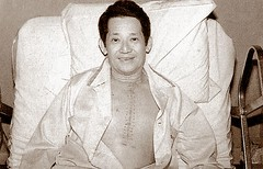 Ninoy after his bypass operation. (Presidential Museum and Library) Tags: martiallaw