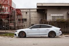Audi S7 ADV7 Track Spec CS Series (ADV1WHEELS) Tags: street wheels deep rims luxury spec forged polished concave smoked stance 2014 oem liquidsmoke 3piece 21inch 1piece adv1 forgedwheels deepconcave advone advancedone 21x105 exposedhardware polishedliquidsmoke