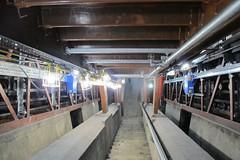 Walthamstow Esc 1&3 16-01-05 (33) (Funny Cyclist) Tags: london stairs train underground steps machine ubahn sprocket escaltor