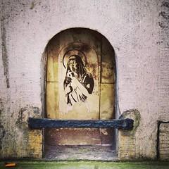 a #holy #wheatpaste #lady - #Gent #visitgent #Belgium #streetart #graffiti #streetartbel #streetart_daily #urbanart (Ferdinand 'Ferre' Feys) Tags: ifttt instagram gent ghent gand belgium belgique belgië streetart artdelarue graffitiart graffiti graff urbanart urbanarte pasteup wheatpaste arteurbano ferdinandfeys