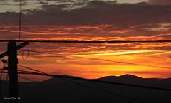 Centro Geodsico | Serra da Milria (antoninodias13) Tags: pordosol portugal paz nuvens fios anoitecer silncio cabos aldeia beirabaixa sert tonalidades elctricos sarnadas antoninodias13