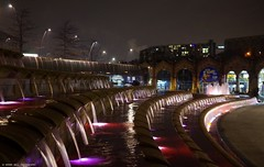 sheffield city town (6) (Simon Dell Photography) Tags: city winter color simon station night train photography long bright time photos sheffield awsome dell tow exp 2016