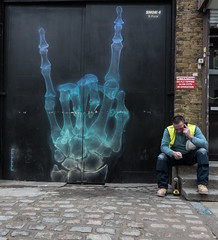 Brick Lane - Graffiti - X-Ray (jerry_lake) Tags: london graffiti streetphotography xray d750 londoncity graffitiart nikon1424mmf28 lightroom61 23rdjan2016