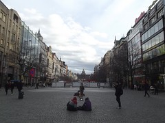 In the square.. (Ms Kat) Tags: prague praha wenceslassquare vclavsknmst mrowrr
