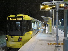 Manchester Metrolink 3100 at Sale Water Park (Barrytaxi) Tags: