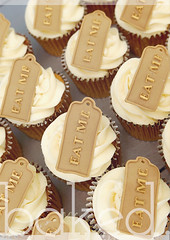 Eat Me Cupcakes (Baked. Cupcakery) Tags: wedding classic beautiful modern newcastle gold cupcakes weddingcake gateshead eatme northeast weddinggift baked sunderland contempory favour weddingcupcakes cakesupplier bakedcupcakery