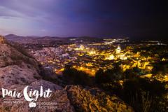 Paso del Tiempo. (Pair Light) Tags: atardecer luces noche iglesia dia roca yecla piedra