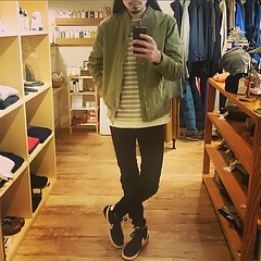 January 22, 2016 at 01:11PM (audience_jp) Tags: fashion japan shop tokyo audience military style  casual sung madeinjapan ma1      ootd