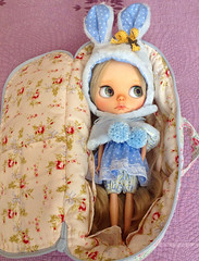 Anne, ready for travelling!! Bye bye, I will miss you!