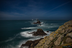 Magic moonlight (Ronan Follic) Tags: sea mer moon lighthouse seascape lune canon landscape eos brittany bretagne breizh moonlight phare bzh 6d ronanfollic
