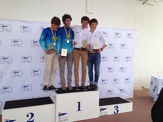 Santi y Luis Mas, campeones catalanes de 420