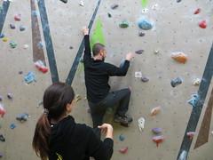 bouldering begins (Mr Kiki) Tags: birthday white london wall spider indoor climbing bouldering