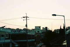 Nightfall (Married with Maps) Tags: city 35mm korea nightfall songtan