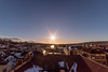 Sunrise from the roof at my workplace (twinny75) Tags: city morning winter sky norway sunrise landscape skien rokinon a7s sonya7s