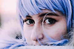 ice within your eyes. (Nicole Favero) Tags: camera blue portrait people cute love ice girl wow hair person photo big crazy amazing eyes nikon mine photoshoot violet best giallo forever lovely cuteness bestfriend dyes bestie valentina ghiaccio tumblr nikond5000