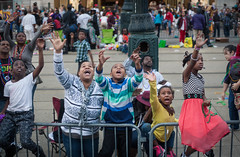 Mardi Gras 2016 (Casey Fox) Tags: children neworleans crowd parade mardigras canalstreet kreweofkingarthur mardigras2016