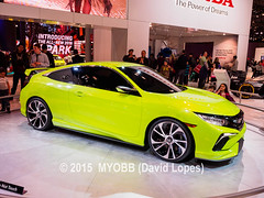 NYC Auto 2015-4084751 (myobb (David Lopes)) Tags: auto nyc newyorkcity usa newyork car honda automobile manhattan civic concepts thebigapple