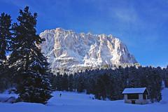 Sasso di Levante (piper969) Tags: italy mountain snow italia neve neige montagna sci dolomiti valgardena passosella sassolungo sassodilevante sasslongh