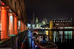 Albert Dock at night (2 of 19) (andyyoung37) Tags: uk longexposure england water night liverpool reflections boats cityscape unitedkingdom gb albertdock merseyside