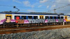 Today You Die (oerendhard1) Tags: urban streetart art train graffiti painted vandalism